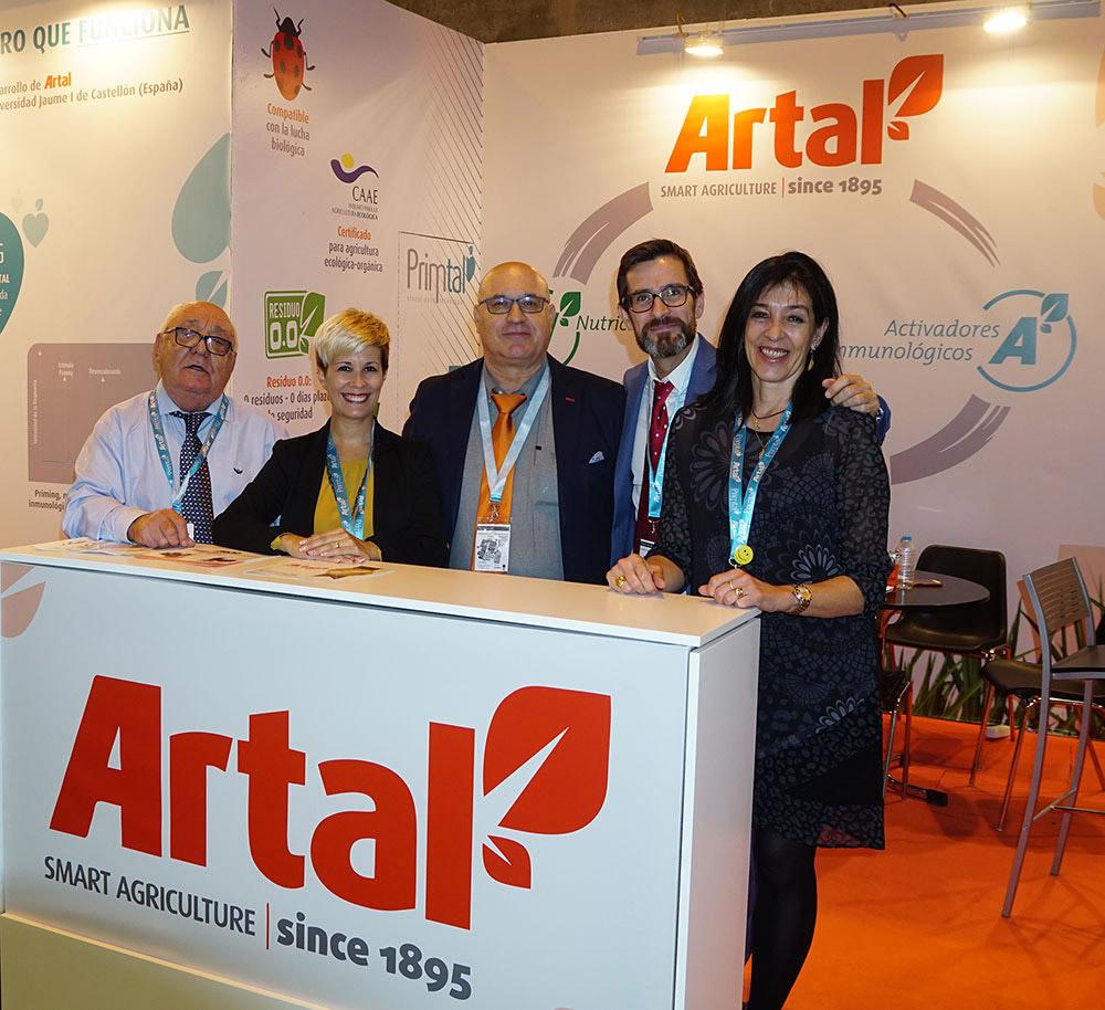 Human team of fertilizer manufacturer company ARTAL Smart Agriculture